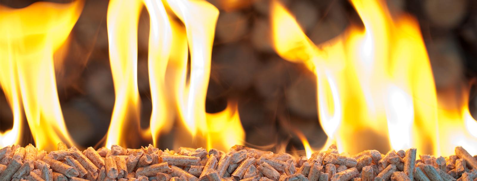 Los cálidos y potentes beneficios de los pellets de madera