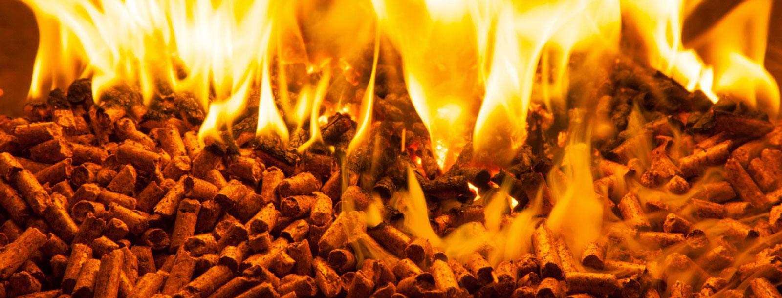 Usando pellets de madera, en Talca se puede reducir la  contaminación hogareña. En España ya lo hicierón