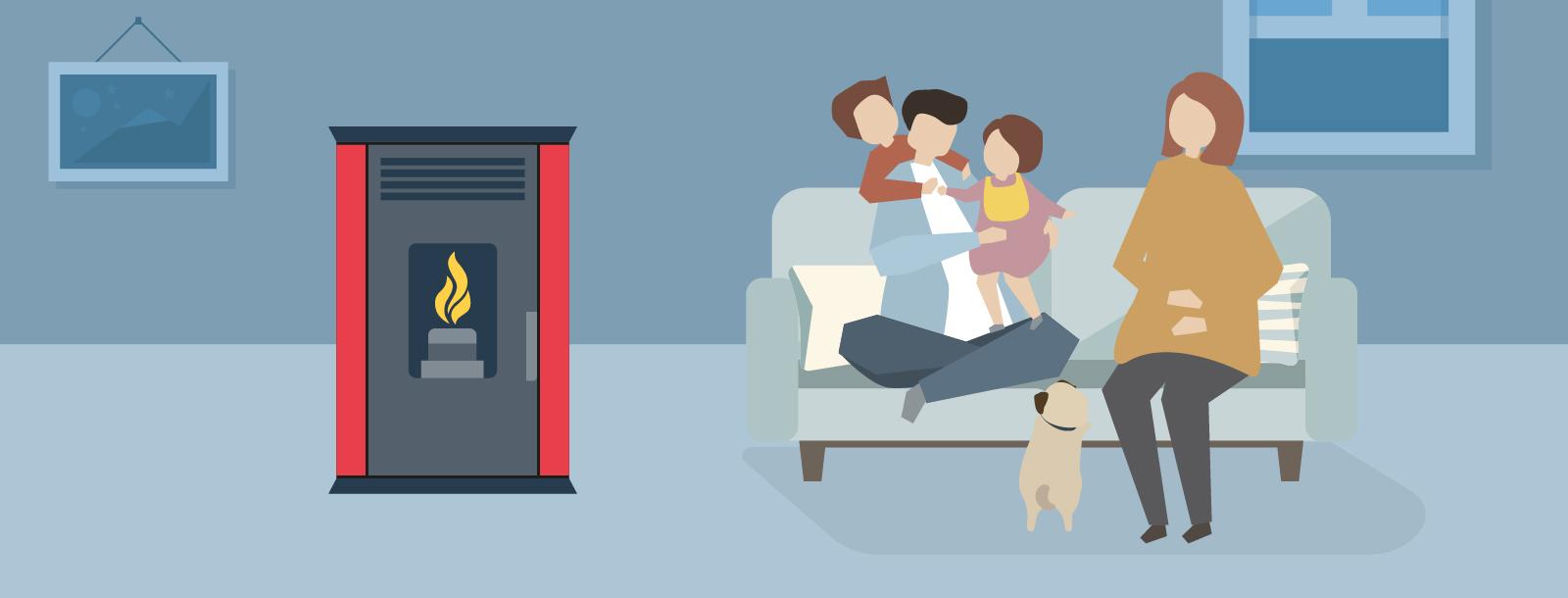 PuroPellet: Nuevos beneficiados con Subsidio Estatal para recambio de Calefactores en el Maule
